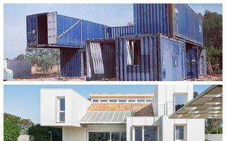 Casă de fier! Cum arată o vilă din Sevilla construită din containere reciclate