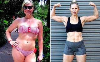 Aceeași greutate, corp diferit: 20 de persoane care s-au transformat total, fără să slăbească