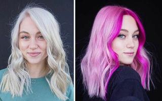 25 de femei curajoase care au încercat culori de păr îndrăznețe. Arată spectaculos!