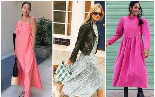5 perechi de pantofi pe care fashionistele le poartă cu rochii