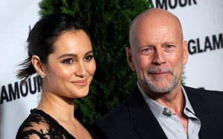 Bruce Willis a împlinit 66 de ani: Starul e fericit cu soția lui, pe care și Demi Moore o admiră