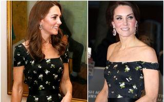 Cum creează Kate Middleton ținute noi cu piese pe care le-a mai purtat