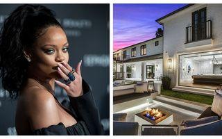 Rihanna și-a luat casă în Beverly Hills: 5 dormitoare, 7 băi și piscină, totul la un preț special