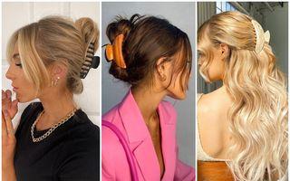 Accesoriul de păr din anii '90 care este din nou în tendințe: 50 de coafuri cu clește de păr