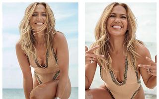 """Jennifer Lopez """"incendiază"""" internetul la 51 de ani: """"Sunt în cea mai bună formă din viața mea!"""""""