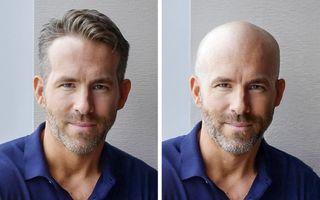 Cum ar arăta bărbații celebri dacă ar rămâne fără păr: 15 chelioși simpatici