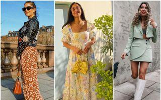 Ce ținute poartă fashionistele în această primăvară. 35 de idei