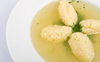 Cum să faci găluște pufoase pentru supă