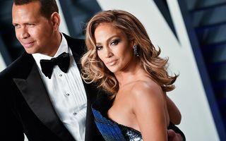 """Jennifer Lopez și Alex Rodriguez s-au despărțit: """"Ne este mai bine ca prieteni"""""""