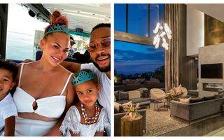 Reducere de milioane: Chrissy Teigen și John Legend taie din preț ca să vândă o casă din Beverly Hills