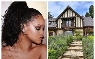 Rihanna are bani: Vedeta a mai cumpărat o casă, chiar lângă vila ei din Beverly Hills