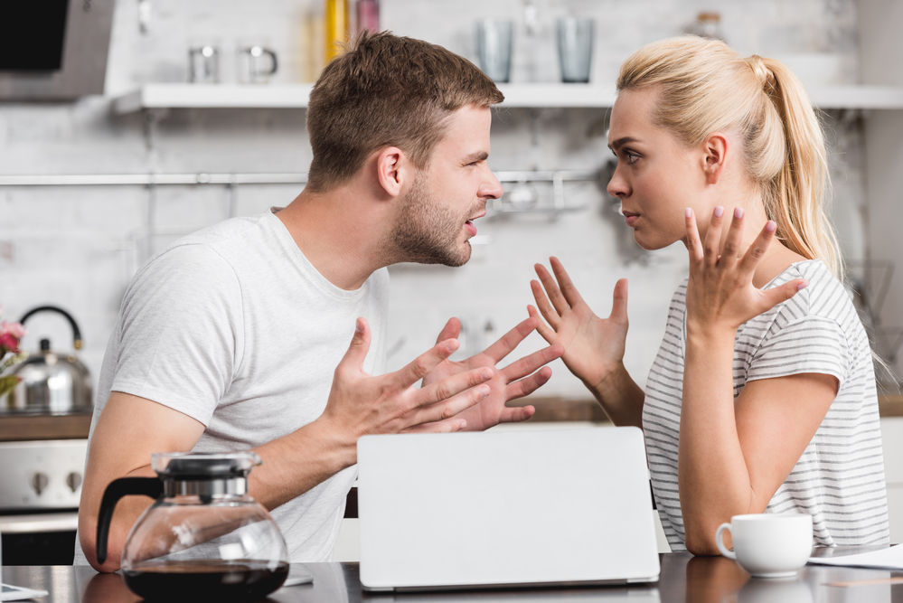 studiu partenerii care se cearta