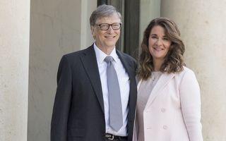 Bill Gates divorțează după 27 de ani de căsnicie