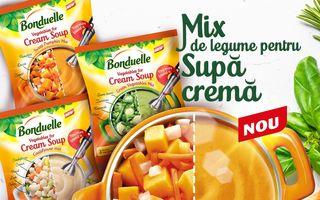Bonduelle lansează gama nouă de  Amestec de Legume pentru Supe Cremă