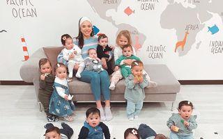 O rusoaică de 23 de ani are deja 14 copii biologici și vrea să ajungă la 100 cu ajutorul mamelor surogat