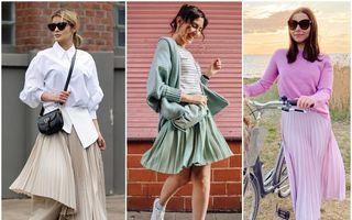 Cum să porți fusta plisată în această vară. 40 de idei