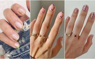 Manichiura cu glitter, trendul surprinzător al verii. Ce modele se poartă