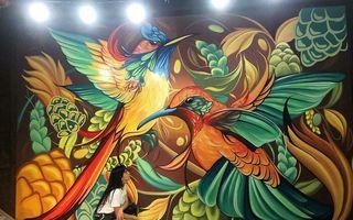 Ziduri transformate în opere de artă: Creațiile spectaculoase ale unei artiste din Argentina