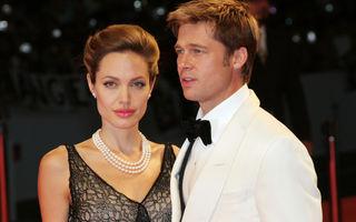 Brad Pitt a câștigat custodia comună a copiilor săi cu Angelina Jolie