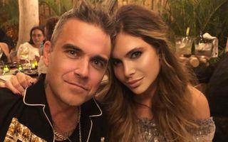Robbie Williams e chelios! Soția lui l-a tuns la zero și a postat imaginile pe Instagram