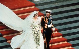 Rochia de mireasă a Prințesei Diana va fi expusă pentru prima dată după 25 de ani. Povestea din spatele unei piese istorice