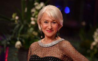 """Helen Mirren, trendy și la 75 de ani: A purtat un costum roz și pantofi verzi cu toc pentru a promova filmul """"Fast & Furious 9"""""""