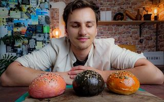 #ShowYourStyle Chef Cristian Boca te învață cum să faci cele mai colorate chifle pentru burgeri