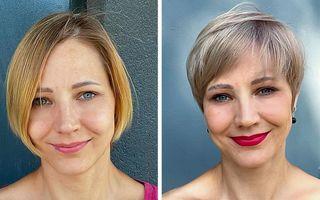 Puterea unei tunsori: Un stilist demonstrează cu ajutorul fotografiilor efectele pozitive ale unui nou look