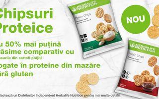 Chipsurile Proteice Herbalife Nutrition – o gustare savuroasă, bogată în proteine