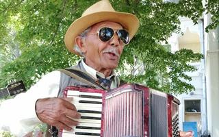 De vorbă cu Nea Gogu de la Poiana Mare, omul care trăiește din muzică de la 15 ani
