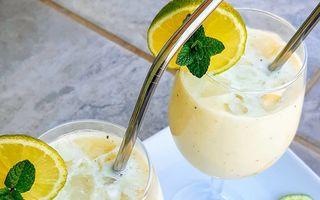 Rețeta de limonadă cremoasă, virală pe TikTok