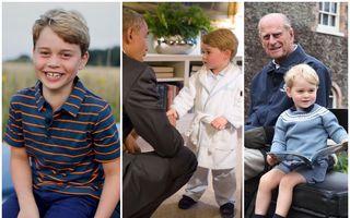 Prințul George a împlinit 8 ani. Cele mai frumoase fotografii din copilăria unui viitor rege