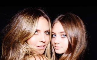 Fiica superbă a lui Heidi Klum: Leni a însoțit-o pe mama sa la un eveniment pe covorul roșu și a atras toate privirile