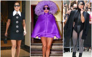 De la clasic și elegant, la șocant: Ținutele spectaculoase purtate de Lady Gaga în numai câteva zile