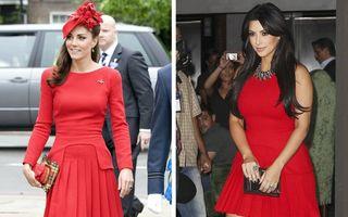 10 vedete care au purtat aceleași ținute pe covorul roșu, dar într-un mod diferit