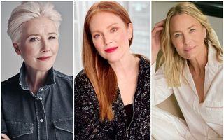 Tunsorile pe care le aleg întotdeauna femeile celebre care au peste 50 de ani