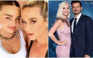 O familie modernă: Miranda Kerr spune că o iubește pe Katy Perry, logodnica fostului său soț, actorul Orlando Bloom