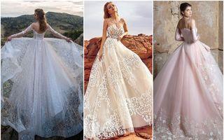 25 de rochii de mireasă spectaculoase ce par inspirate din basme