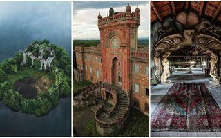 Frumuseți uitate: 30 de clădiri și locuri abandonate care arată spectaculos