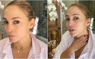 Rutina din 4 pași simpli care o ajută pe Jennifer Lopez să arate cu 20 de ani mai tânără