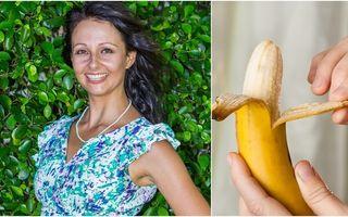 A mâncat numai banane timp de 12 zile. Prin ce transformare a trecut acestă femeie