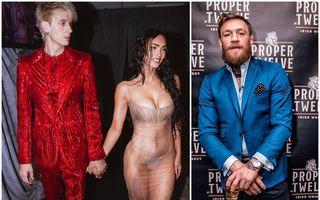 Scandal la Premiile VMA: Iubitul lui Megan Fox și luptătorul Conor McGregor au fost la un pas să se ia la bătaie pe covorul roșu