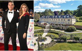 Robbie Williams își vinde moșia de la țară: O casă cu 7 dormitoare, piscină interioară și hangar pentru elicopter