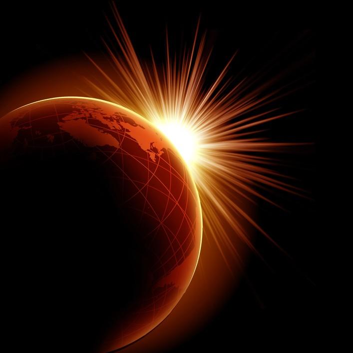 modul în care o eclipsă afectează vederea)