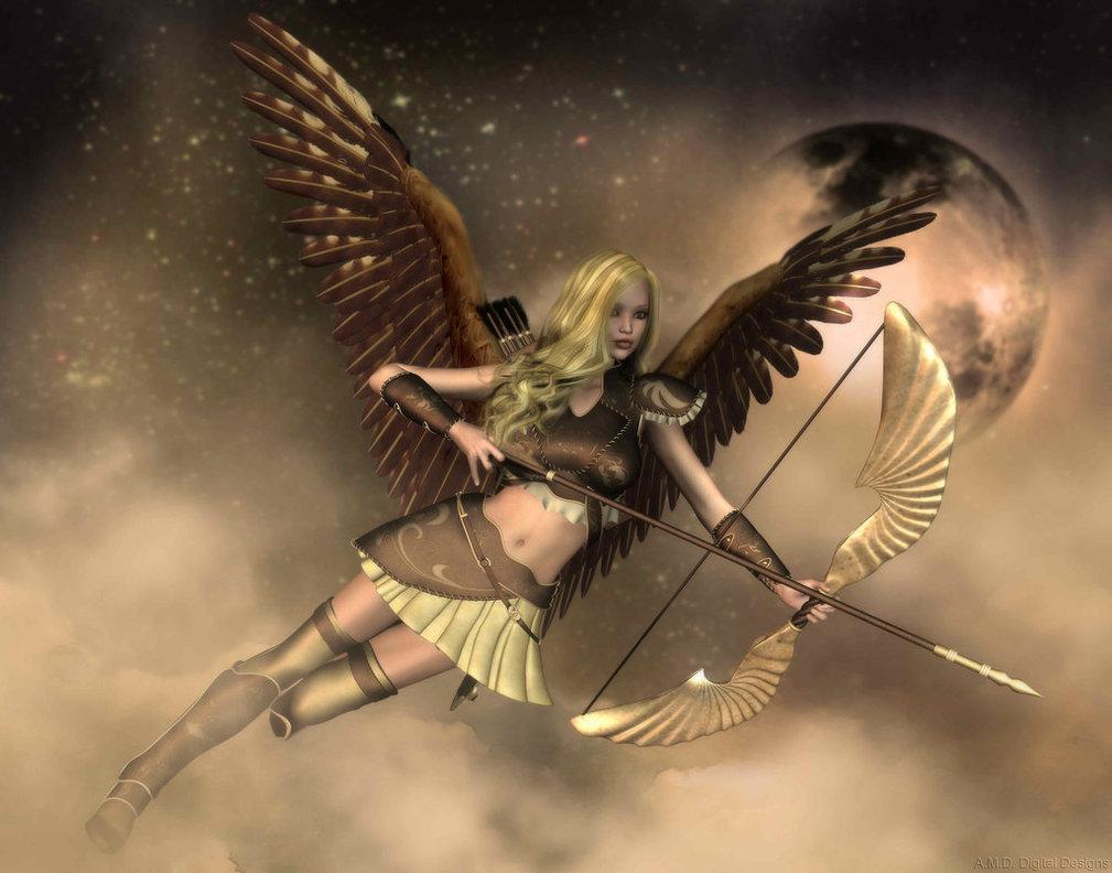 ангелы с луком картинки одного соседа точку