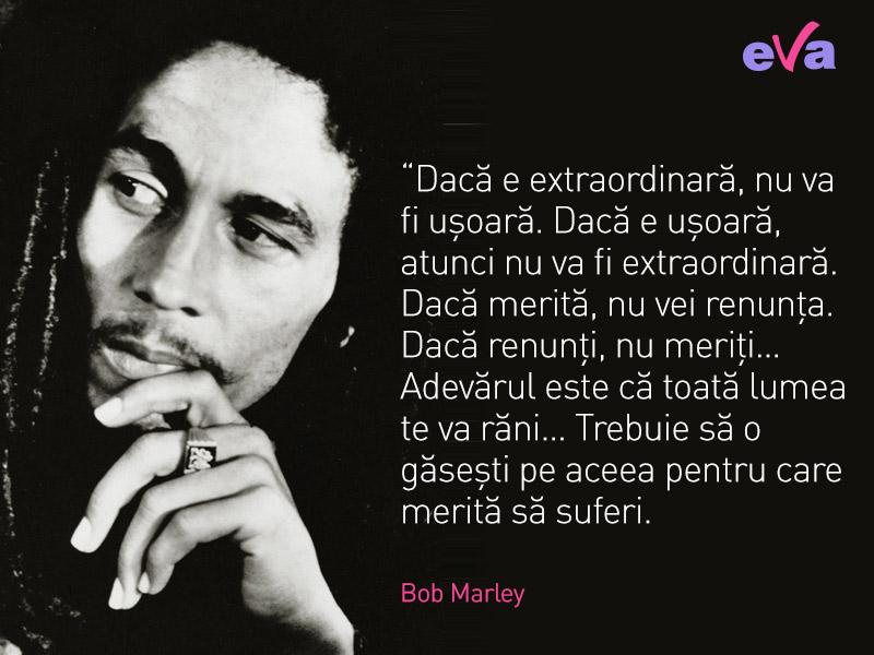 Citate Despre Viata Si Fotografie : Dintre cele mai importante citate ale lui bob marley