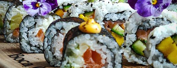 #ShowYourStyle Un sushi cu stil by Chef Cristian Boca