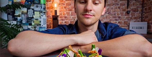 #ShowYourStyle Rețetă fine dining - mușchiuleț de porc în crustă verde by Chef Cristian Boca