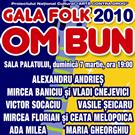 """Castiga o invitatie dubla la """"Gala Folk Om Bun 2010"""""""